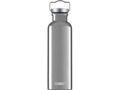 SIGG Trinkflasche Original Alu Grau