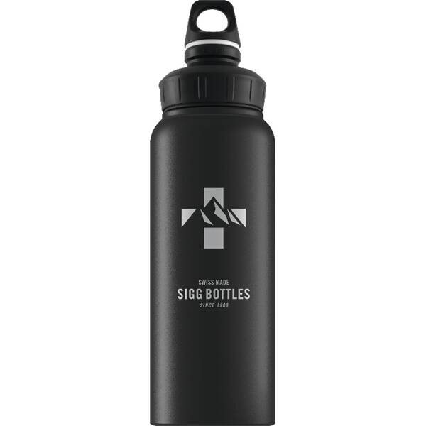 SIGG  Trinkflasche Mountain Black Touch