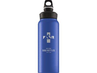 SIGG Trinkflasche Mountain Dark Blue Touch Blau