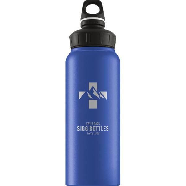 SIGG  Trinkflasche Mountain Dark Blue Touch
