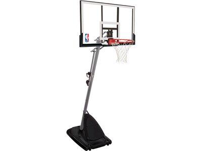 SPALDING Baskettball-Anlage Pro Glide Schwarz
