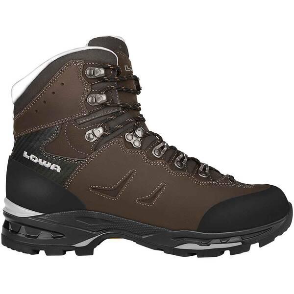 LOWA Herren Trekkingschuhe Camino LL | Schuhe > Outdoorschuhe > Trekkingschuhe | Dunkelgrau - Schwarz | Leder | LOWA
