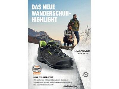 LOWA Herren Trekkingschuhe L O W A® EXPLORER GTX LO Schwarz