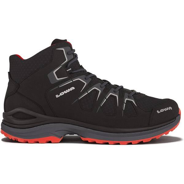 LOWA Herren Multifunktionsstiefel Innox EVO GTX® Qc | Schuhe > Outdoorschuhe > Wanderstiefel | Schwarz - Rot | LOWA