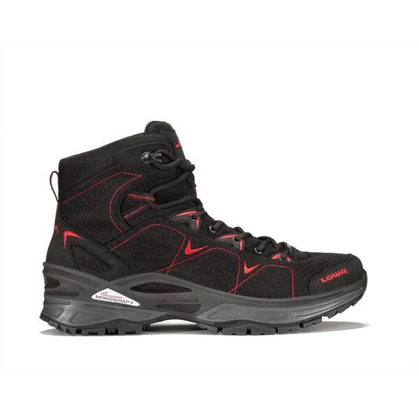 LOWA Herren Trekkingschuhe Ferrox GTX Mid | Schuhe > Outdoorschuhe > Trekkingschuhe | Schwarz - Rot | LOWA