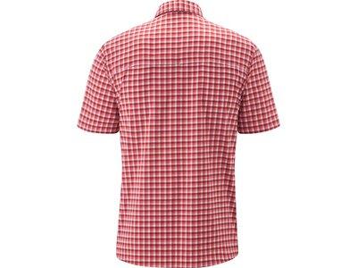 MAIER SPORTS Herren Hemd 1/2 Arm Rot
