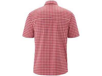 MAIER SPORTS Herren Hemd 1/2 Arm Pink