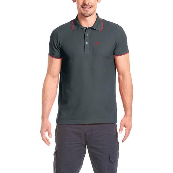 MAIER SPORTS Herren Poloshirt Comfort Polo M | Sportbekleidung > Sportshirts > Poloshirts | Graphite | maier sports
