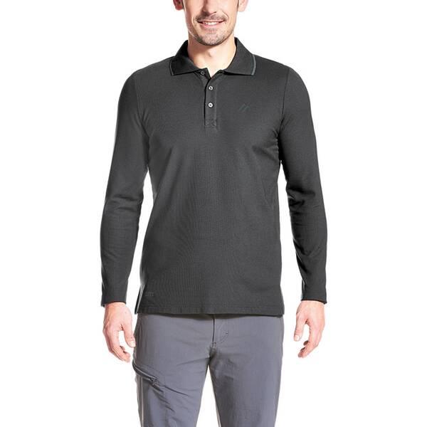 MAIER SPORTS Herren Poloshirt Comfort LS M