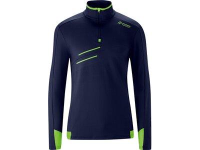 MAIER SPORTS Herren Pullover Neo Sweater M Blau