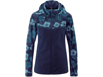 MAIER SPORTS Damen Funktionsjacke Bloomy Blau