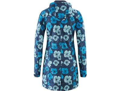 MAIER SPORTS Damen Mantel Bloomy Blau