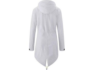 MAIER SPORTS Damen Mantel mTEX Ranja Coat Weiß