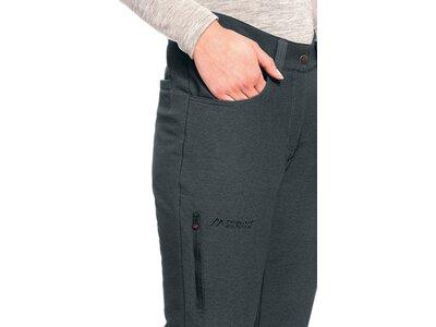 MAIER SPORTS Damen Outdoorhose Tillit W slim Grau