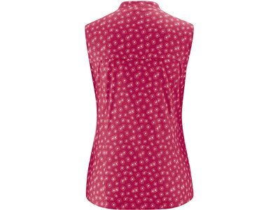 MAIER SPORTS Damen Bluse o. Arm Jirena Rot