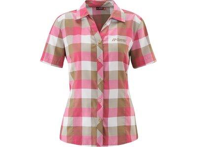 MAIER SPORTS Damen Bluse Jara S/S Pink