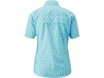 MAIER SPORTS Damen Bluse 1/2 Arm Blau