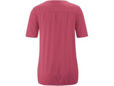 MAIER SPORTS Damen Bluse 1/2 Arm Doora 2.0 Rot