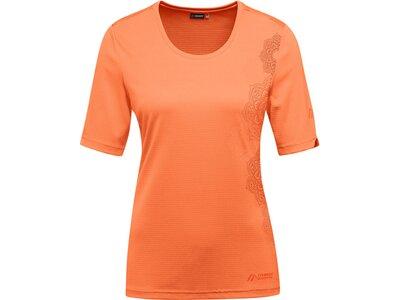 MAIER SPORTS Damen Funktionsshirt Irmi Orange