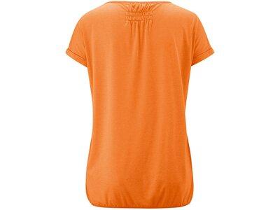 MAIER SPORTS Damen T-Shirt Lulea T-Shirt Orange