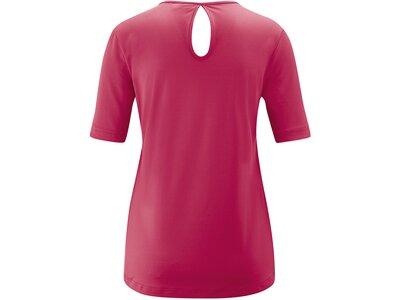 MAIER SPORTS Damen Shirt 1/2 Arm Rhyd Rot