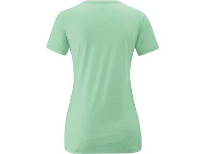 MAIER SPORTS Damen Shirt 1/2 Arm Free Spirit Grün