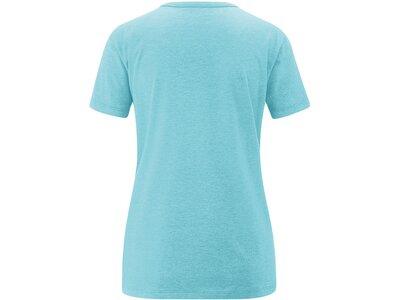 MAIER SPORTS Damen Shirt 1/2 Arm Sticks Blau