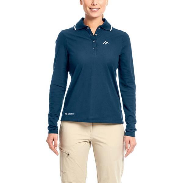 MAIER SPORTS Damen Poloshirt Comfort LS W