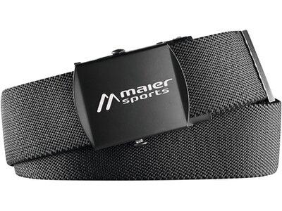 MAIER SPORTS Guertel Tech Belt Schwarz