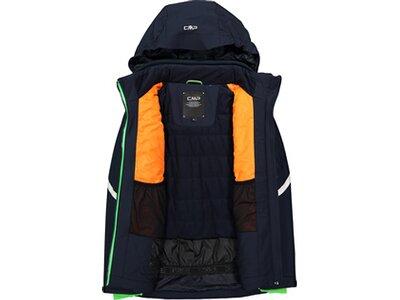 CMP Kinder Jungen Ski Jacke mit Kapuze Blau