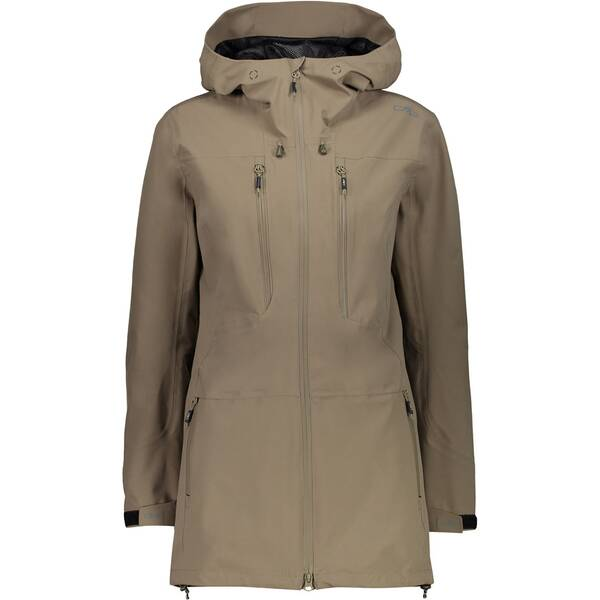 CMP Damen LONG JACKET FIX HOOD