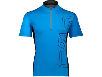 CMP Herren T-Shirt FREE BIKE Blau