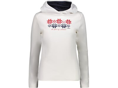 CMP Damen Sweatshirt WOMAN SWEAT FIX HOOD Grau
