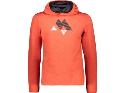 CMP Herren Sweatshirt MAN SWEAT FIX HOOD Orange