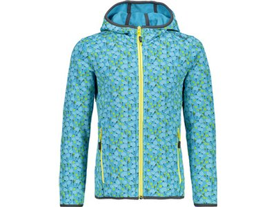 CMP Kinder FIX HOOD JACKET Blau