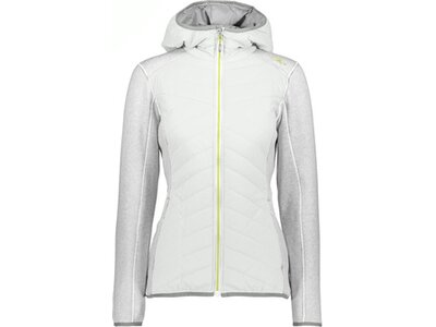 CMP Damen Outdoorjacke WOMAN JACKET FIX HOOD HYBRID Grau