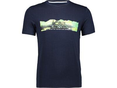 CMP Herren T-Shirt Blau