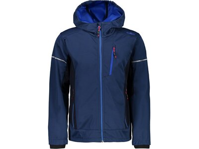 CMP Kinder Softshell-Jacke BOY JACKET FIX HOOD Blau
