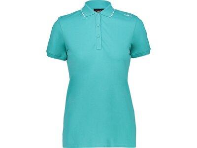 CMP Damen Poloshirt Grün