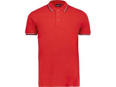 CMP Herren Poloshirt Rot