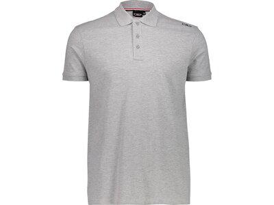 CMP Herren Poloshirt Silber