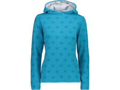 CMP Damen Sweatshirt WOMAN SWEAT FIX HOOD Blau