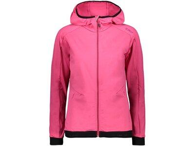 CMP Damen Sweatshirt WOMAN JACKET FIX HOOD Pink