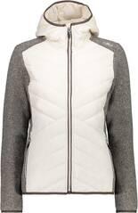 CMP Damen Sweatshirt WOMAN JACKET FIX HOOD HYBRID