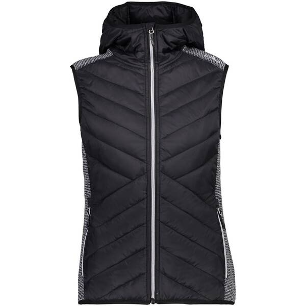 CMP Damen Sweatshirt WOMAN VEST FIX HOOD HYBRID
