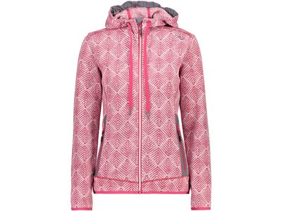 CMP Damen Sweatshirt WOMAN JACKET FIX HOOD Pink