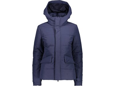 CMP Damen Jacke WOMAN JACKET FIX HOOD Blau