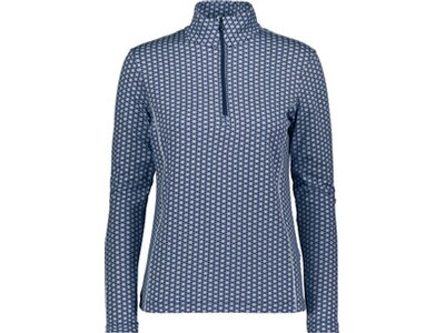 CMP Damen Sweatshirt WOMAN SWEAT PRINTED Blau