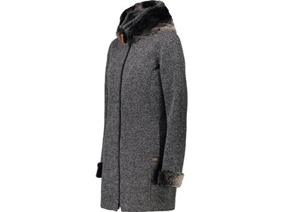 CMP Damen Sweatshirt WOMAN PARKA FIX HOOD Grau