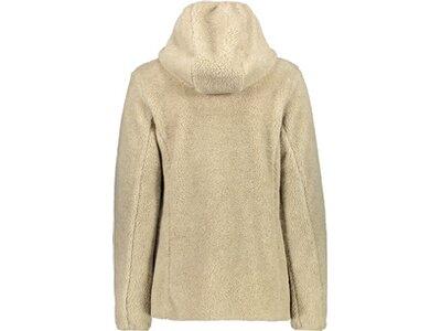 CMP Damen Sweatshirt WOMAN JACKET FIX HOOD Braun
